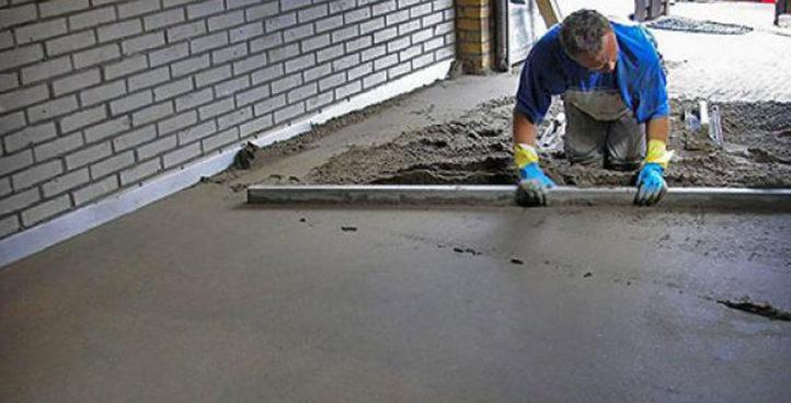 Cementgebonden dekvloeren